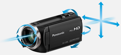 panasonic hc v180 hd video camera camcorder. Black Bedroom Furniture Sets. Home Design Ideas