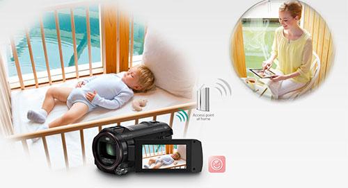 Panasonic Hc V750k 20x Zoom Hd Wi Fi Video Camera