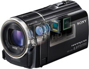 about Sony Handycam HDR-PJ260V 16GB 1080p HD Video Camera Camcorder