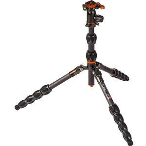 3 Legged Thing Eclipse Leo Carbon Fiber Tripod with AirHed Switch (Grey)