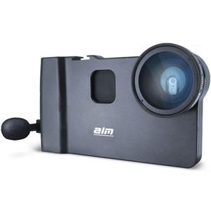 ALM mCAM Stabilizer Mount with Video Lens and Microphone for iPhone 6 Plus-6S Plus