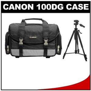"Canon 100DG Digital SLR Camera Case - Gadget Bag with 57"" Photo/Video Tripod at Sears.com"