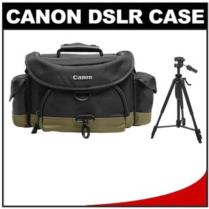 Canon 10EG Deluxe Digital SLR Camera Case-Gadget Bag with 58 inch Photo-Video Tripod