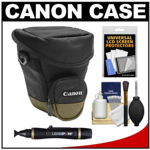 Canon Zoom Pack 1000 Digital SLR Camera Holster Case with Cleaning Kit and LCD Protectors