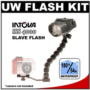 Intova ISS 4000 Underwater Slave Flash with Arm and Mounting Bracket
