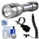Intova LED Mini Torch Flashlight / Video Light with Flex Arm + Adapter + Cleaning Kit