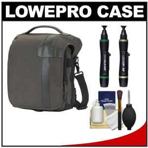 Lowepro Classified 140 AW Digital SLR Camera Bag/Case (Sepia) with Complete Cleaning Kit