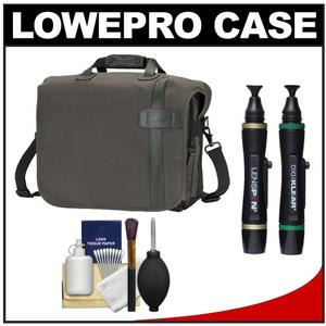 Lowepro Classified 200 AW Digital SLR Camera Bag/Case (Sepia) with Complete Cleaning Kit