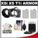 MADE Rubberized Camera Armor Case for Canon Rebel XSi, XS & T1i (Black) with (2) LP-E5 Batteries & Charger + Accessory Kit