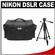 Nikon 5874 Digital SLR Camera Case - Gadget Bag with Photo/Video Tripod