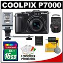 Nikon Coolpix P7000 Digital Camera (Black)