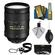 Nikon 28-300mm f/3.5-5.6 G VR AF-S ED Zoom-Nikkor Lens with 3 UV/ND8/CPL Filters + Cleaning Accessory Kit