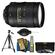 Nikon 28-300mm f/3.5-5.6 G VR AF-S ED Zoom-Nikkor Lens with 3 UV/ND8/CPL Filters + Tripod + Cleaning Accessory Kit