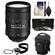 Nikon 28-300mm f/3.5-5.6 G VR AF-S ED Zoom-Nikkor Lens with Holster Case + 3 UV/ND8/CPL Filters + Cleaning Kit