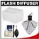 Precision Design PD-FD300 Bounce Flash Diffuser for Vivitar 283 / PD DSLR300 with Cleaning Kit