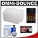 STO-FEN Omni-Bounce PZ8 Flash Diffuser for Sony HVL-F36AM, HVL-F42AM, Vivitar 383 with (4) AA Batteries & Charger + Cleaning Kit