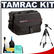 Tamrac 604 Zoom Traveler 4 Digital SLR Camera Bag (Black) with Deluxe Photo/Video Tripod + Accessory Kit
