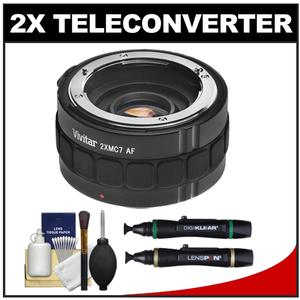 Vivitar Series 1 2x 7 Elements Teleconverter-Sony Alpha-with Lenspens and 6-Piece Cleaning Kit