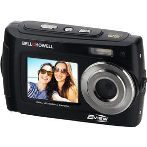 Bell and Howell 2VIEW18 HD Dual Screen Waterproof Digital Camera-Black -