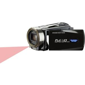 Bell And Howell DNV16HDZ 1080p HD Video Camera Camcorder with Infrared Night Vision (Black)