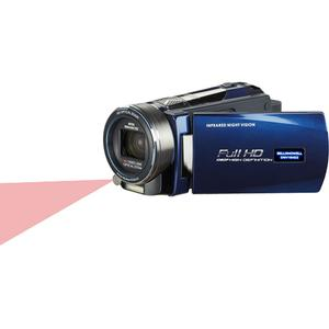 Bell & Howell DNV16HDZ 1080p HD Video Camera Camcorder with Infrared Night Vision (Blue)