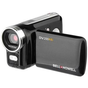 Bell and Howell DV200HD HD Video Camera Camcorder with Built-in Video Light