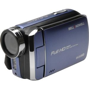 Bell and Howell DV30HD 1080p HD Video Camera Camcorder-Blue -