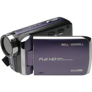 Bell howell dv30hd 1080p hd video camera camcorder purple for Cameta com