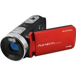 Bell and Howell Fun Flix DV50HD 1080p HD Video Camera Camcorder-Red -