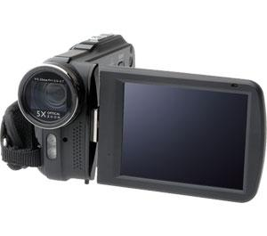 Bell & Howell DV5HDZ ZoomTouch 1080p HD High Definition Digital Video Camcorder & Case