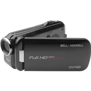 Bell & Howell Slice2 DV7HD 1080p HD Slim Video Camera Camcorder (Black)
