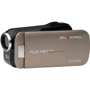 Bell and Howell Slice2 DV7HD 1080p HD Slim Video Camera Camcorder-Champagne -