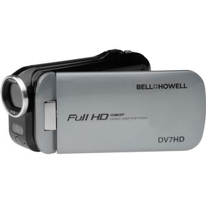 Bell and Howell Slice2 DV7HD 1080p HD Slim Video Camera Camcorder-Gray -