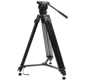 Bell and Howell VT-60 Professional Video Tripod with Case