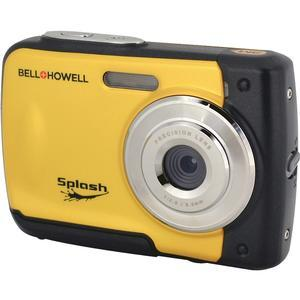 Bell and Howell Splash WP10 Shock and Waterproof Digital Camera-Yellow -