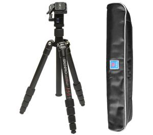 Benro Aluminum A1690TBH0 Travel Angel Tripod with Ballhead and Case
