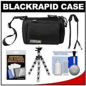BlackRapid SNAPR 35 3-in-1 ILC Digital Camera Bag Sling & Hand Straps with Flex Tripod + Accessory Kit