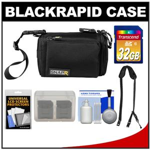 BlackRapid SNAPR 35 3-in-1 ILC Digital Camera Bag Sling & Hand Straps with 32GB SD Card + Accessory Kit