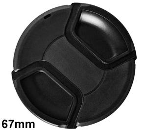 Bower 67mm Pro Series II Snap-on Front Lens Cap