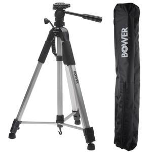 Bower VTSL7200 72 inch Digital Photo-Video Camera Tripod Steady-Lift Series with Case