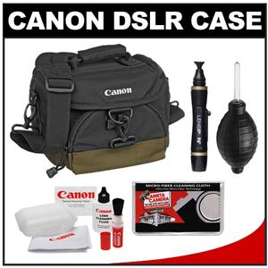 Canon 100EG Digital SLR Camera Case - Gadget Bag with Canon Cleaning Accessory Kit