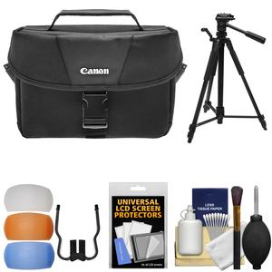 Buy Now Canon 100ES DSLR & Video Camera Case with Tripod + Flash Diffusers + Kit Before Too Late