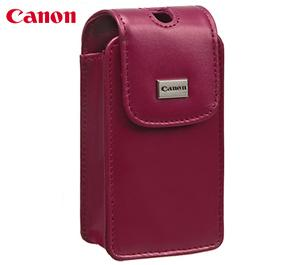 Canon PowerShot PSC-45 Deluxe Leather Digital Camera Case (Pink)