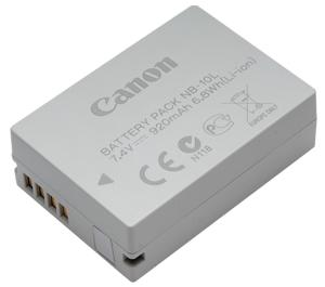 Canon NB-10L Rechargeable Battery Pack