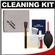 Canon Optical Digital Camera & Lens Cleaning Kit (Brush, Microfiber Cloth, Fluid & Tissue) with Precision Design Hurricane Blower