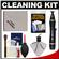 Canon Optical Digital Camera & Lens Cleaning Kit (Brush, Microfiber Cloth, Fluid & Tissue) with Blower + Lenspen + Spudz + LCD Protectors