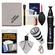 Canon Optical Digital Camera & Lens Cleaning Kit (Brush, Microfiber Cloth, Fluid & Tissue) with Flashlight Keychain + Blower + Lenspen + Spudz + LCD Screen Protectors