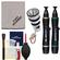 Canon Optical Digital Camera & Lens Cleaning Kit (Brush, Microfiber Cloth, Fluid & Tissue) with Flashlight Keychain + Blower + Lenspen + Digi-Klear