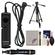 Canon RS-60E3 Remote Switch Shutter Release Cord with Tripod + Accessory Kit EOS 60D, 70D, Rebel T3, T3i, T4i, T5, T5i, T6i, T6s Camera