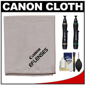 Canon EF Lenses Microfiber Lens Cleaning Cloth with Lenspens + Cleaning Kit